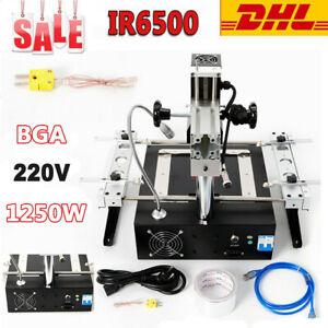 IR6500 BGA Rework Station Soldering System Infrared Reballing Stations TECH 220V
