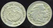 COLOMBIE 10  diez centavos   1954