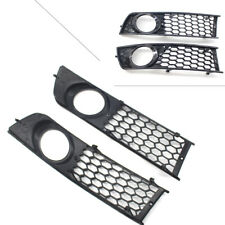 Front Bumper Fog Light Cover Grille Grill Honeycomb For AUDI A4 B6 2001-2005 02