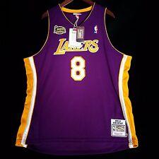 100% Authentic Kobe Bryant Mitchell Ness 2001 Finals Lakers NBA Jersey 52 2XL