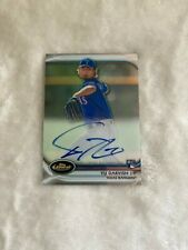 2012 Topps Finest Rookies Refractor /198 Yu Darvish #AR-YD Rookie Auto