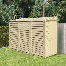 Garden Storage Shed BillyOh Retford Outdoor Plastic Inc Foundation 4 x 8