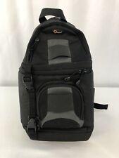 Lowepro Slingshot 100AW Digital Camera Hiking Bag/Pack Lens Cloth Pockets BLACK