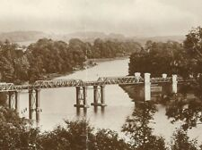CD-300 UK, Northern Ireland Weirs Bridge, Enniskillen Real Photo Postcard RPPC
