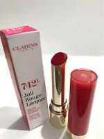 NEW Clarins Joli Rouge Lip Lacquer, 742 Joli Rouge BNWB