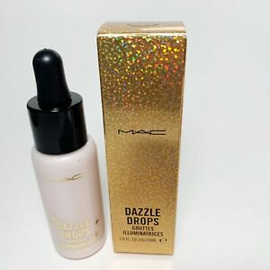MAC Dazzle Drops Dazzlepink Liquid Highlighter NIB FULL SIZE 1oz