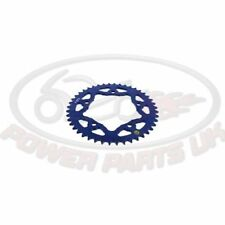 Blue Motorcycle Chains, Sprockets and Parts