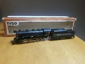 Tyco #245-15 HO Scale Chattanooga Steam Locomotive and Tender #638