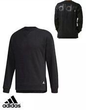 Adidas MBL Sweatshirt Men's Fleece Black Jumper Top