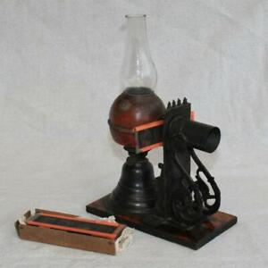 Small Antique Toy Magic Lantern Projector Ernst Plank c1890