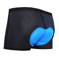 Gel Men's 3D Padded Cycling Underwear Bicycle Underpants Lightweight Bike Shorts