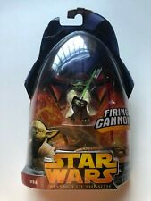 STAR WARS REVENGE OF THE SITH YODA FIRING CANNON  Nº3 NUEVO