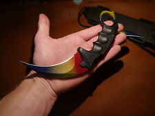CSGO Karambit Marble Fade Strike Hunt Jagd Messer Counter *Geschenk*Christmas