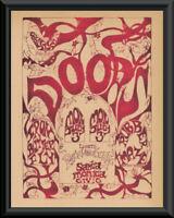 The Doors Santa Monica Concert Poster Reprint On Old Paper *234