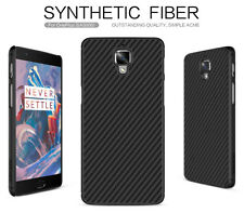 For OnePlus 3(A3000) Nillkin Synthetic Carbon Fiber Matte Hard Back Cases Covers