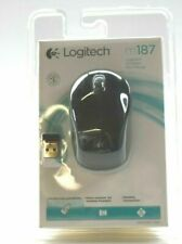 Logitech Logitech M187 Wireless Mini Mouse 910-002720 New USB Laptop Desktop