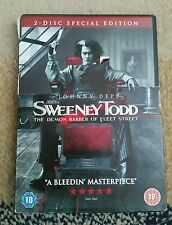 Sweeney Todd The Demon Barber Of Fleet Street 2 - Disk Special Edition *RARE*