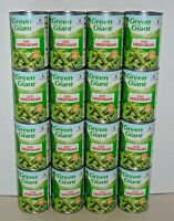 (16 Cans) GREEN GIANT Cut Green Beans 14.5 oz (411g) NO GMO - No Preservatives