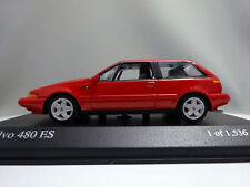 Minichamps 1/43 Volvo 480 ES 1986 red
