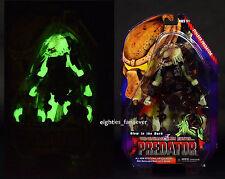 "NEW 7"" STALKER PREDATOR Glow In The Dark Action Figure NECA Series 16 Retro Card"