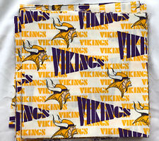"LSU Football Fabric Tigers Mike White Cotton Quilt 9"" X 45"" F17"