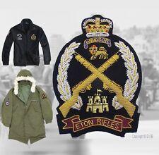 Eton Rifles Parka Blazer Badge The Jam Mod Badge