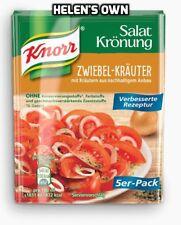 Mezcla de hierbas cebolla aderezo para ensaladas Knorr 5 X 10g Sobres. Free UK Post