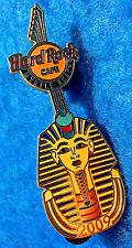 New listing Myrtle Beach Egyptian Pharaoh King Tutankhamun Mask Guitar 09 Hard Rock Cafe Pin