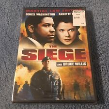 The Siege (DVD, 2007, Martial Law Edition, Widescreen) Brand New Sealed