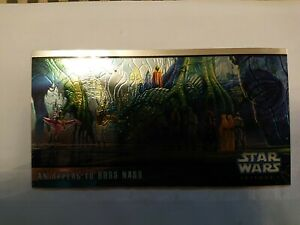 Star Wars Topps Widevision 1999 Episode I Series Two Hobby Chrome Chase H-C3 An