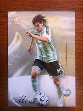 2007 Futera World Football Soccer Card- Argentina LIONEL MESSI Mint