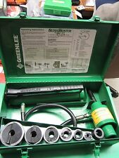 GREENLEE 7646 RAM & HAND PUMP HYDRAULIC DRIVER KIT,PREOWNED,VERY NICE ,FAST SHIP