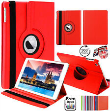 """360 For Apple iPad 10.2"""" 8th Gen 2020 360 Rotating PU Leather Stand Case Cover"""
