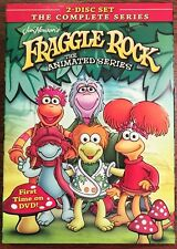 Fraggle Rock The Animated Series 2-Disc DVD Set The Complete Series Jim Henson