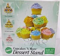 Wilton Cupcakes 'N More Dessert Stand Holds 13 Cupcakes Truffles Votive Party