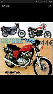 SUZUKI GS250 JUEGO JUNTAS ATHENA P400510600254