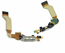 iphone 4S 4GS USB Charging Dock Port Connector + Mic Assembley Flex Cable White