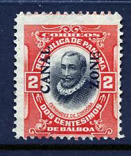 Bigjake: Canal Zone #53, 2 Cent Cordoba, Type IV,  Unused No Gum
