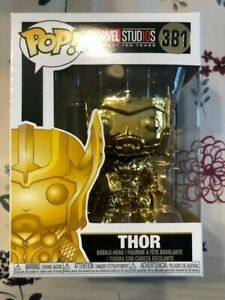 Funko Pop - Marvel Thor 381 Gold Chrome