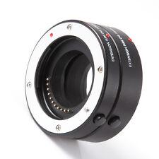 FOTGA AF Macro DG Extension Tube 10mm 16mm Set for Olympus Panasonic Micro M4/3