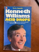 Kenneth Williams Acid Drops 1981 edition paperback good condition