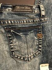 MISS ME Jeans VINTAGE BLU Mid-rise Skinny Size 30 Or 31 $99