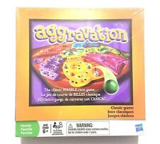 NEW Aggravation Board Game The Classic Marble Race Game HASBRO 2009 Sealed