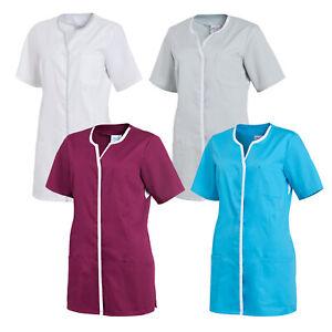 Leiber Damen Hosenkasack Pfleger Kasack Damenkasack Arbeitskleidung Kurzarm