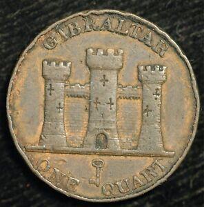 Gibraltar Quart 1842 Farthing KM#2 (T13)