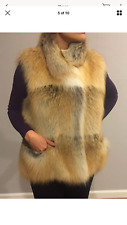 New Piazza Sempione Real Fox Vest size Small with tags