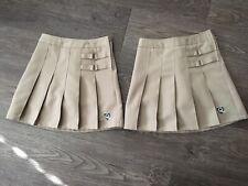 New listing Girls French Toast Khaki Pleated School Uniform Skirts Size 7