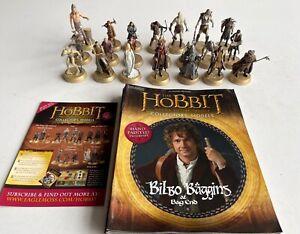Der Hobbit Sammlermodelle - Eaglemoss Verlag, 21 Figuren mit Begleitheften