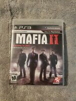 Mafia II 2  - Sony PlayStation 3 - PS3 w/Manual/Map/Case Tested Complete
