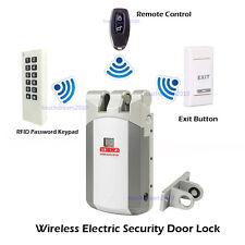 Wireless Smart Door Lock Security Electric Home Anti-theft Lock Access Control
